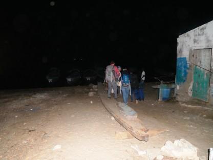 Départ pour Mar Lodj depuis N'Dangane
