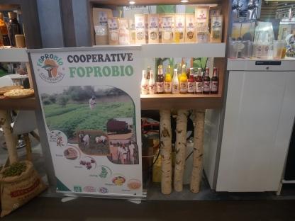 Les produits de la coopérative sénégalaise FOPROBIO