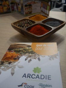 Les épices d'Arcadie