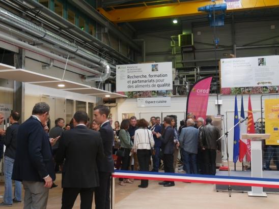 Inauguration plateforme technologique CIRAD