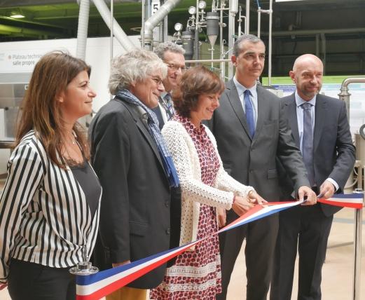 Inauguration plateforme du CIRAD