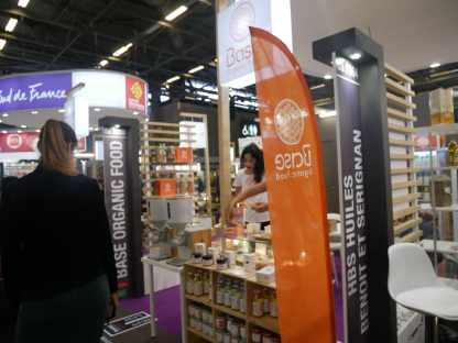 Le stand de Base Organic Food
