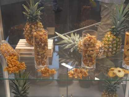 Ananas séchés de Hpw AG